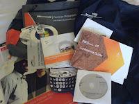 Goodie-bagen från Microsoft