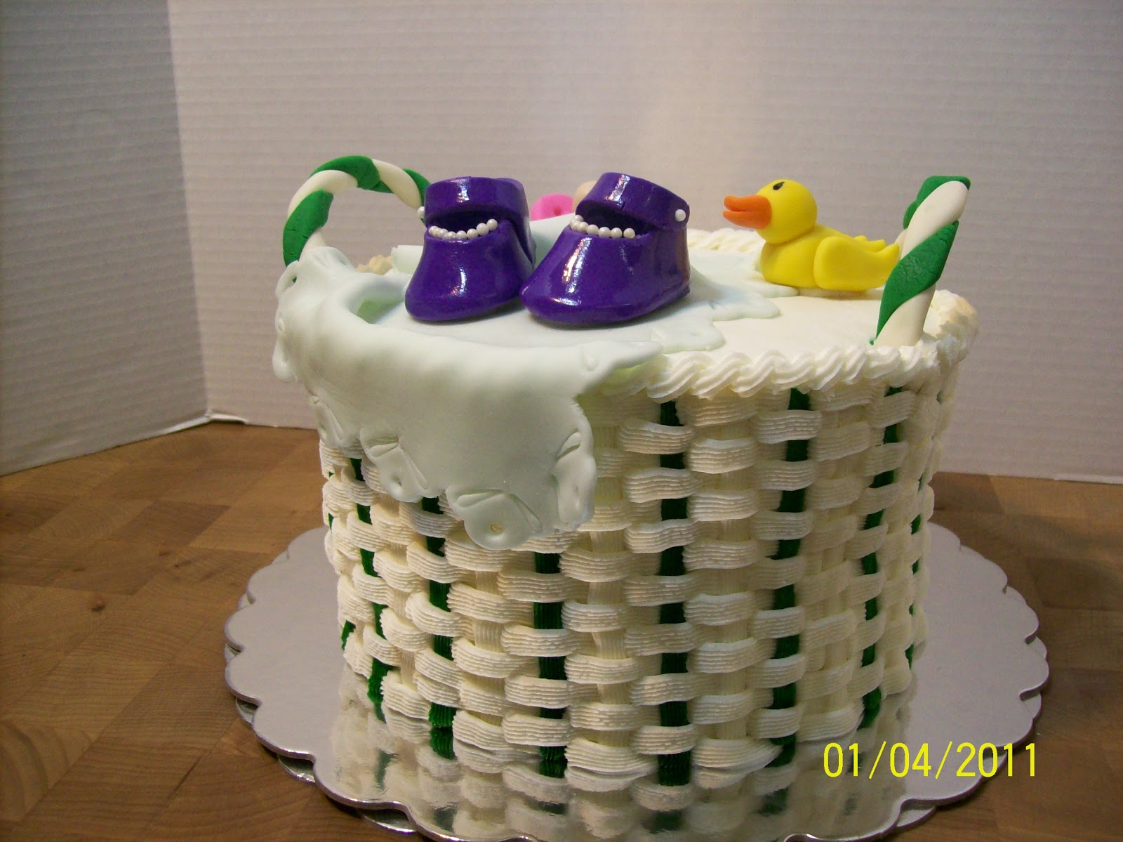 cakes by chris baby shower basket