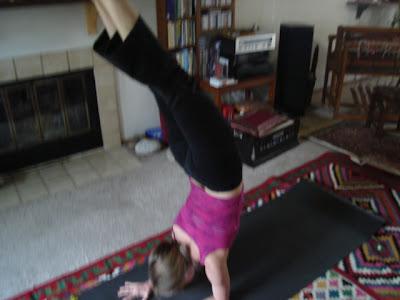 marlie in yogaville