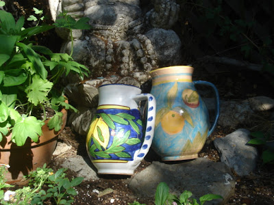 two vases from Robins Nest