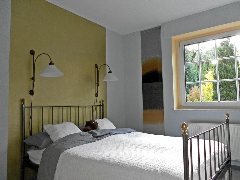Schlafzimmer Rot Grau Streichen: Wand Streichen Ideen Kreative
