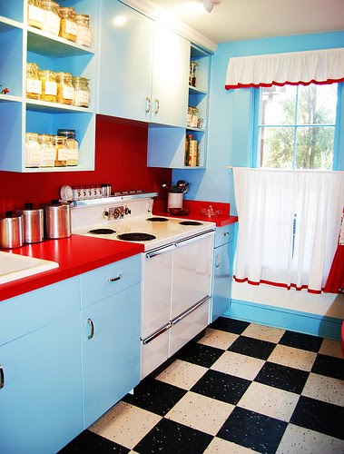 Loveology: I WANT IT: 50's-60's Kitchen