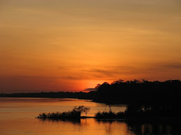 Atardecer en el Amazonas