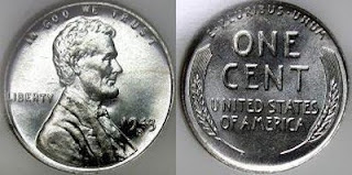 1943 Silver Wheat Penny Value