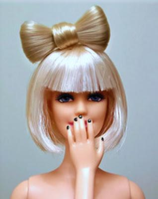 how to make lady gaga hair bow. Photo of Veik#39;s Lady