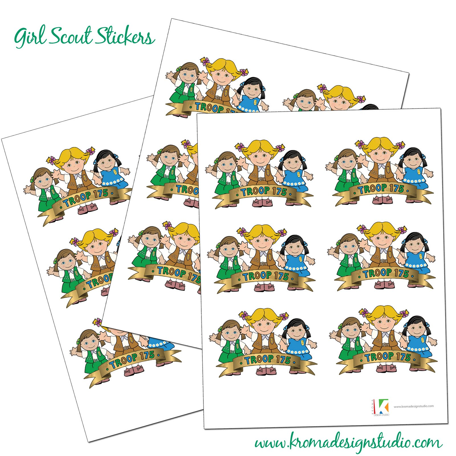 Featured Client Project: Girl Scout Troop 175 - Miami, FL