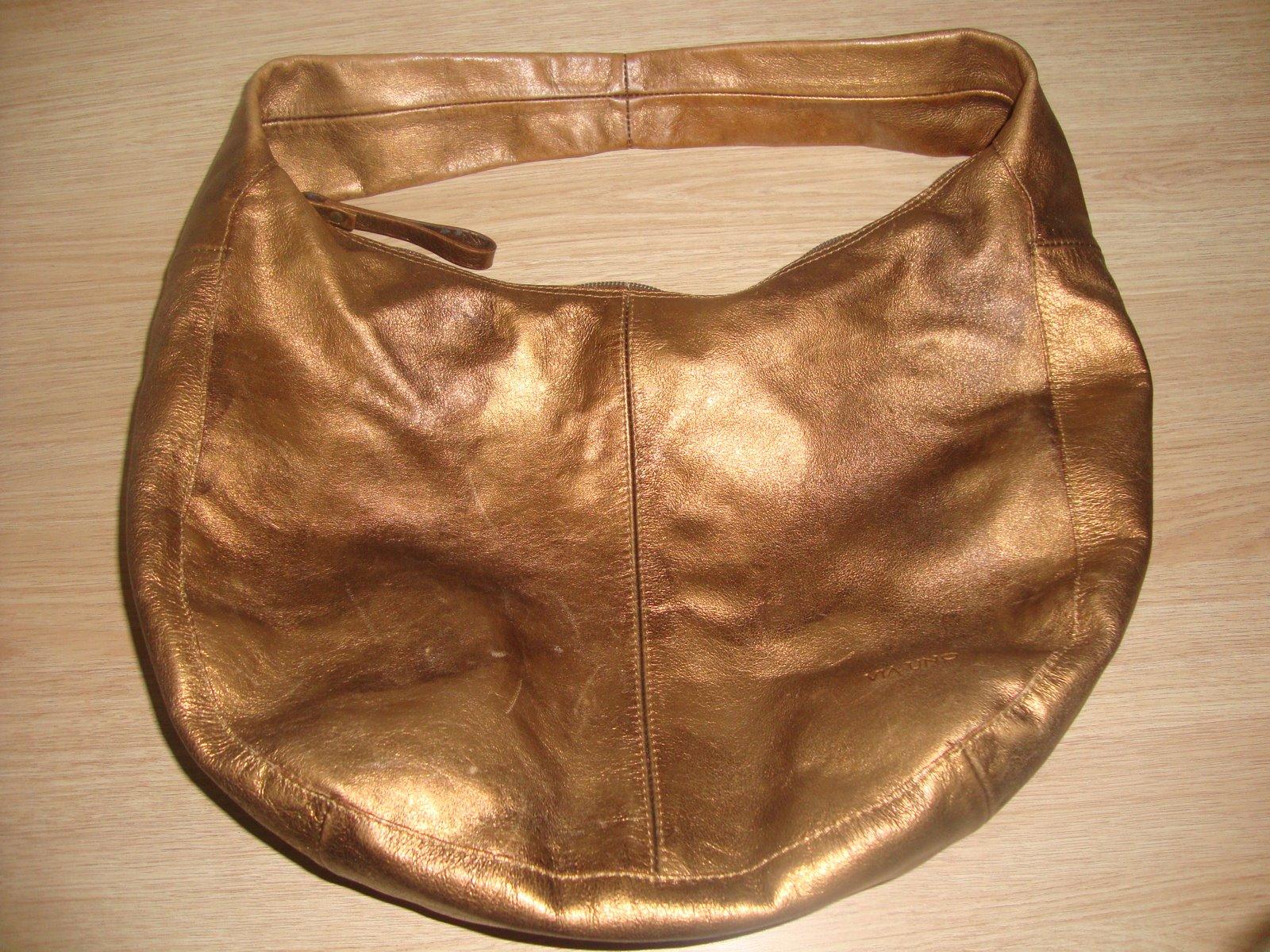 Bolsa Feminina De Couro Via Uno : Brechoice bolsa molenga em couro via uno vendida para gio