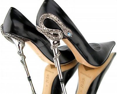 Gianmarco Lorenzi SWAROVSKI Stiletto Pump