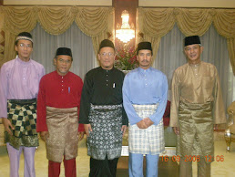 Bersama DYMM Sultan Mizan