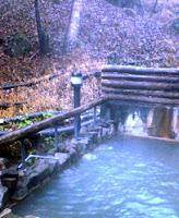 湯元館の露天風呂