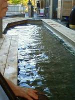 足湯天然温泉かきつばた
