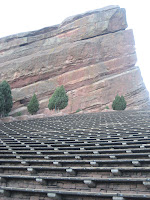 Rock formations at Red Rocks