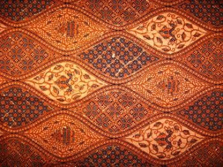 A beautiful piece of Indonesian Batik