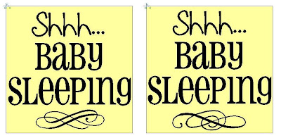 Comprehensive image in baby sleeping sign printable
