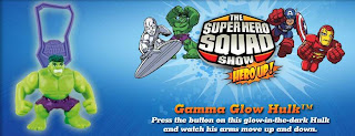 Burger King Superhero Squad Toys - Gamma Glow Hulk toy