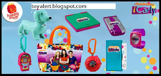 McDonalds iCarly happy meal toys