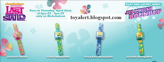 Burger King Toy Watches - Spongebob's Last Stand Toys - Watch Giveaway 2010