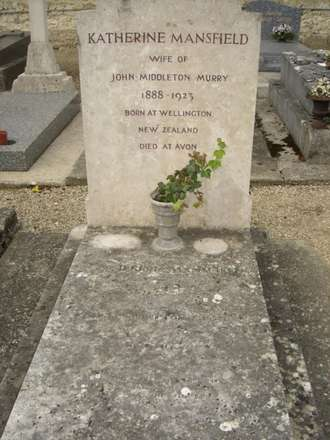 Katherine Mansfield's Grave