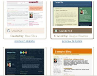 Choose a Blogger.com default template