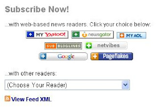 Burned Feed at Feedburner - Feed Reader Choices
