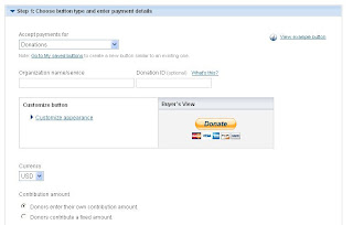 Paypal Create Button Steps