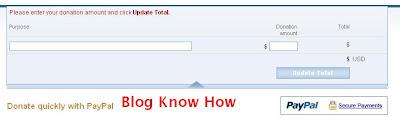 Agregar botón Donar de PayPal a Blogger-Tutorial