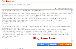 Add Meta Tags to Blogger on a Single Post
