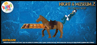 Night at the Museum 2 Happy Meal Toys from McDonalds 2009 - Napoleon