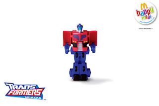 McDonalds Transformers Animated Toys 2008 - Optimus Prime