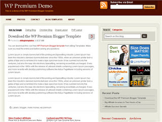 WP Premium - Best Free Blogger Template