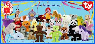 McDonalds Ty Beanie Babies 2009 - 30 Plush toys