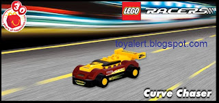 McDonalds Lego Racer Happy Meal Toys - 2009 - Curve Chaser toy