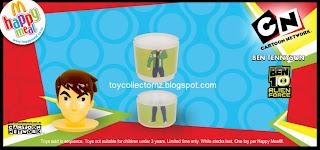 McDonalds Cartoon Network 2009 Promotion - Ben 10 Alien Force - 3 part stacker toy