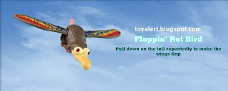 Burger King toys - Cloudy with a Chance of Meatballs 2009 - Flappin' Rat Bird