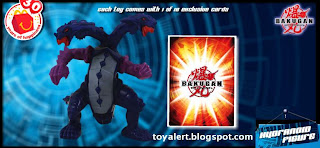 McDonalds Bakugan toys - Hydranoid action figure