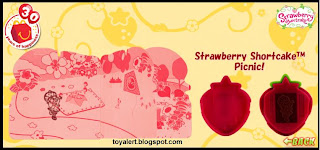 McDonalds Strawberry Shortcake Picnic toy - inside detail