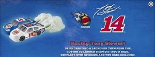 Burger King Tony Stewart 14 kids meal toys - Racing Tony Stewart car