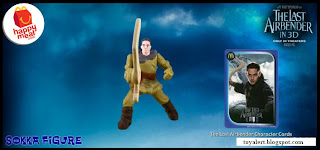 McDonalds Last Airbender Happy Meal Toys - Sokka Figure (Front View)