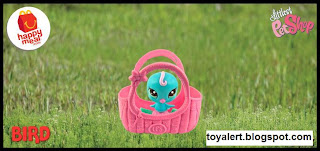 McDonalds Littlest Pet Shop Happy Meal Toys 2010 - Bird