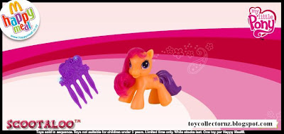 McDonalds My Little Pony 2010 - Australia and New Zealand Release - Scootaloo
