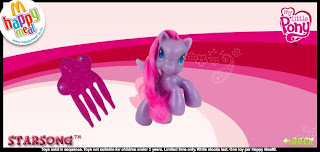 McDonalds My Little Pony 2010 - Australia and New Zealand Release - Starsong