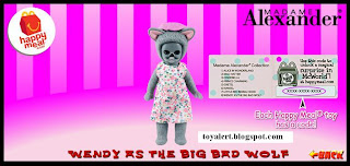 McDonalds Madame Alexander 2010 - US Release - Wendy as the Big Bad Wolf