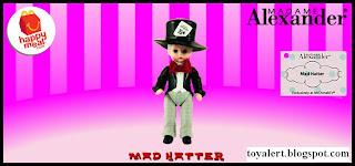 McDonalds Madame Alexander 2010 - US Release - Mad Hatter