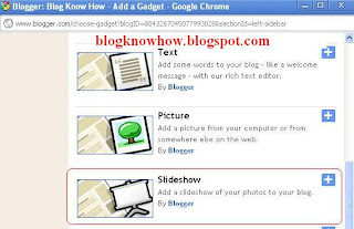How to Add a Slideshow to Blogger