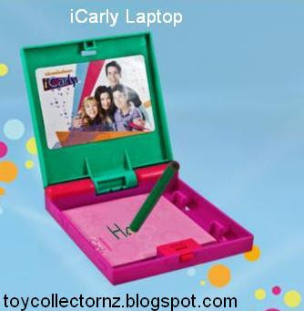 McDonalds iCarly Happy Meal Toy 2010 - Laptop