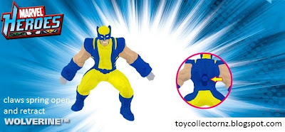 McDonalds Marvel Heroes toy promotion in Australia and New Zealand 2010 - Wolverine