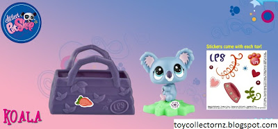 McDonalds Littlest Pet Shop happy meal toy promotion in Australia and New Zealand 2010 - Koala