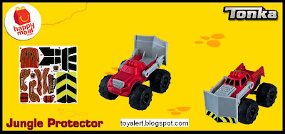 McDonalds Tonka Happy Meal toys 2011 - Jungle Protector