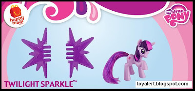 McDonalds My Little Pony Happy Meal Toys 2011 - Twilight Sparkle