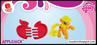 McDonalds My Little Pony Happy Meal Toys 2011 - Applejack